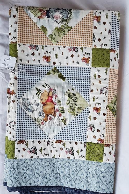 Winnie Pooh Quilt (42x35)