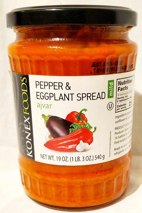 Pepper & Eggplant Spread