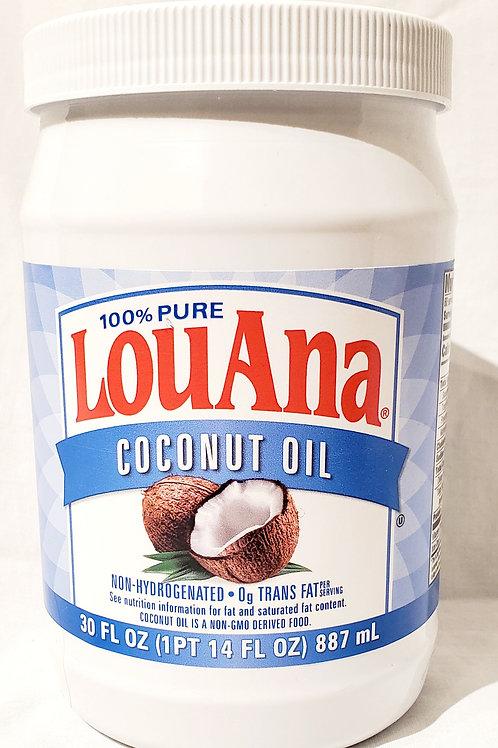 LouAna Coconut Oil (30oz)
