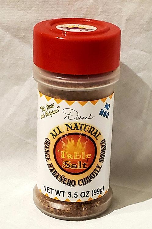 All Natural Homemade Seasoning (Orange Habanero Chipotle Smoked)