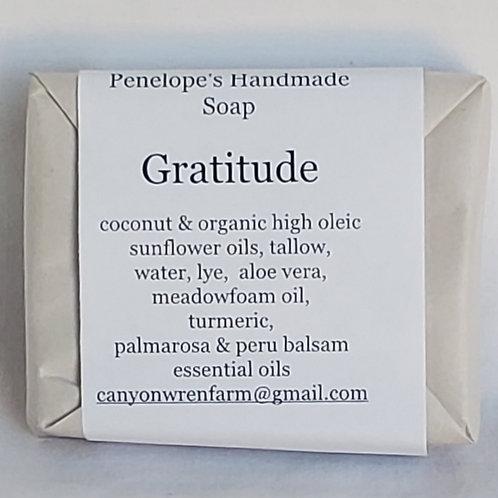 Handmade Soap (Gratitude)
