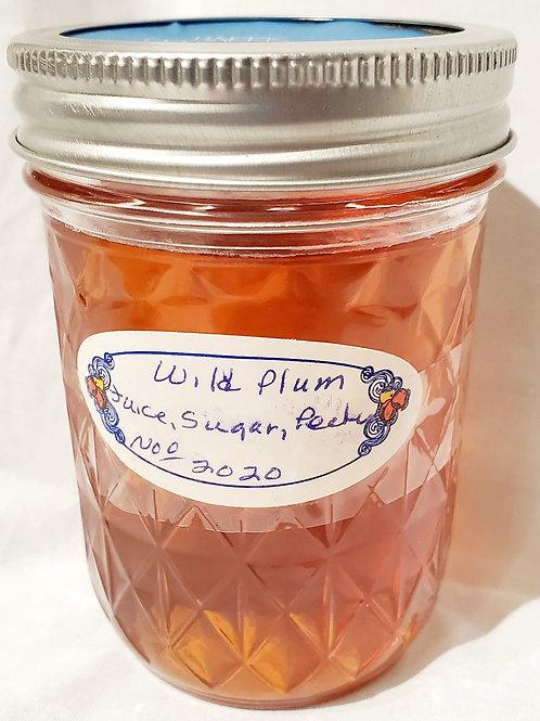 Homemade Wild Plum Jelly 10oz