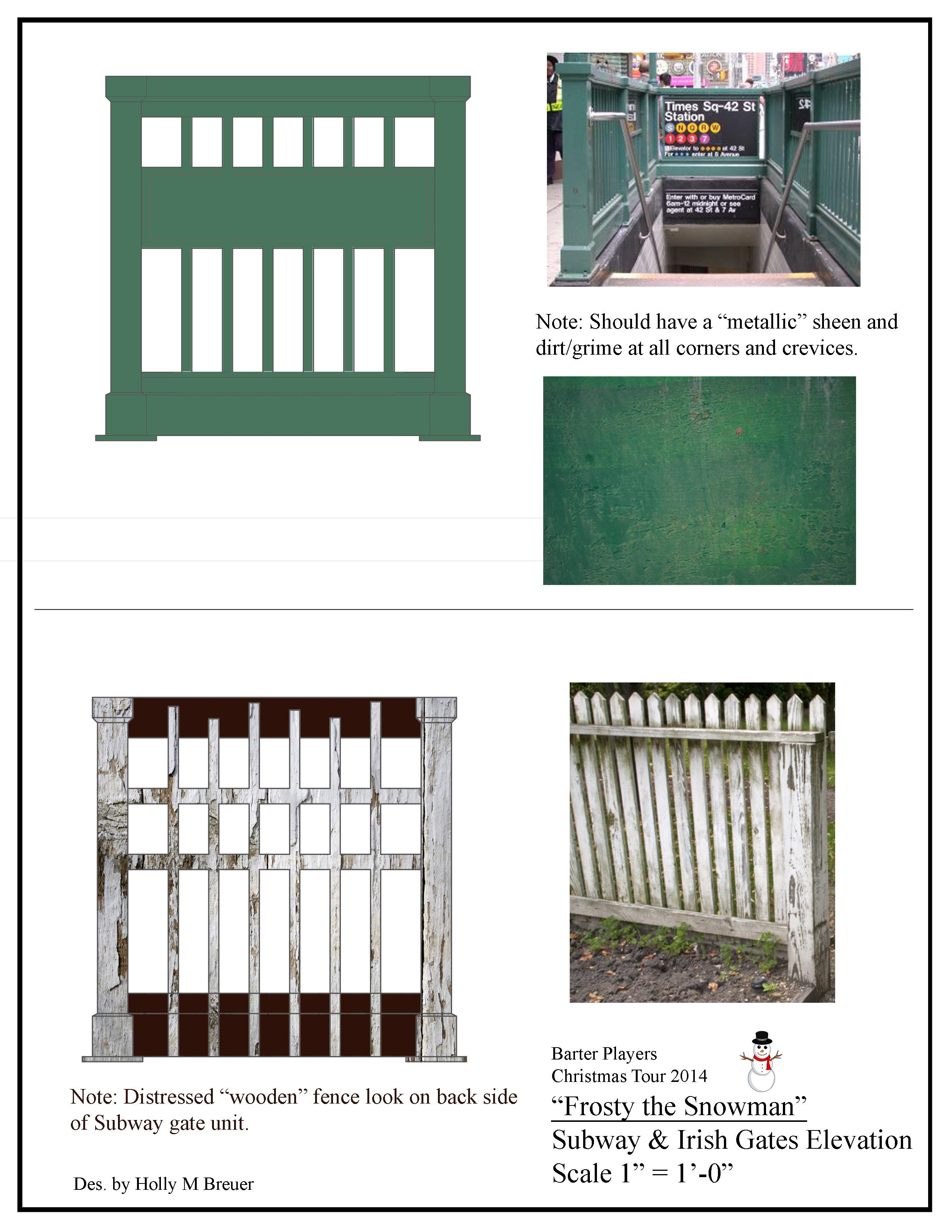 Subway and Irish Gates Elevation