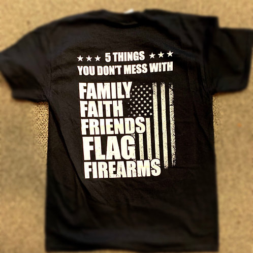 Fly Elite T-Shirt - 5 Thing you don't mess with