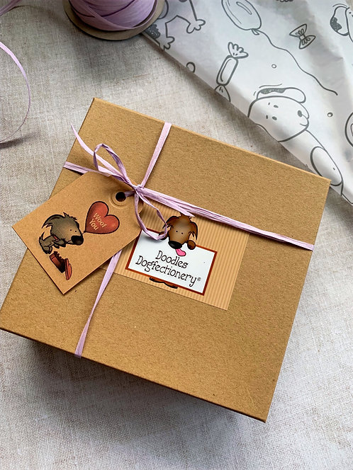 Gift Boxed Personalised Doodle Bar