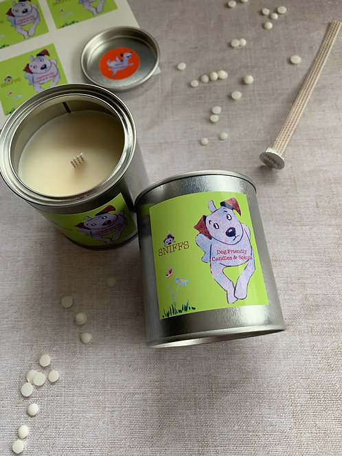 Sniffs Paint Pot Candle (Black Plum & Rhubarb)