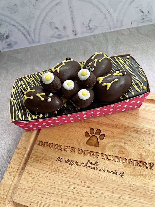 Eggstra Special Easter Dogfectionery Popcorn Cake