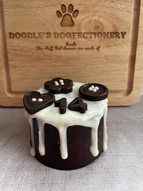 Dogfectionery Popcorn Cake