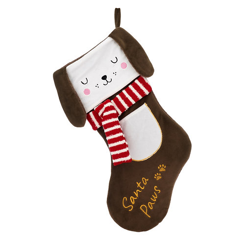 Barney the Dog Christmas Stocking