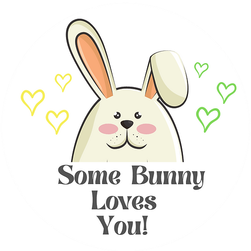 Some Bunny Loves You Loaded Dogfectionery Bar