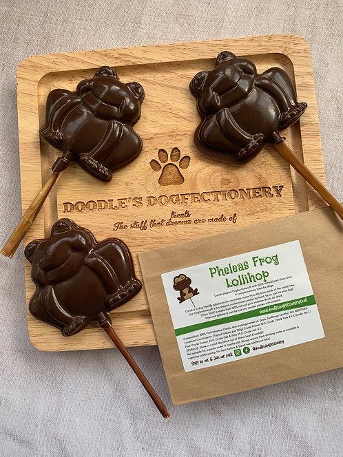 Pheleas Frog Lollihop!