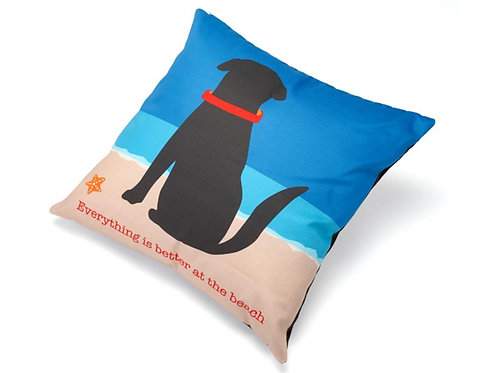 Everything is Better at the Beach Decorative Cushion