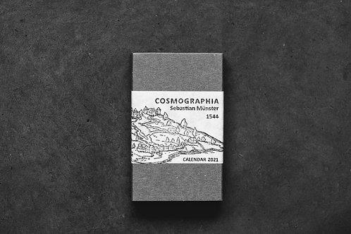 PAPYRUS Calendar 2021 『COSMOGRAPHIA』4月始まり版