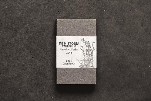 PAPYRUS Calendar 2021 『De Historia Stirpium』 4月始まり版