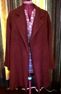 Lined Coat-New Look Pattern - Diff