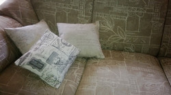 Scatter cushions with zip