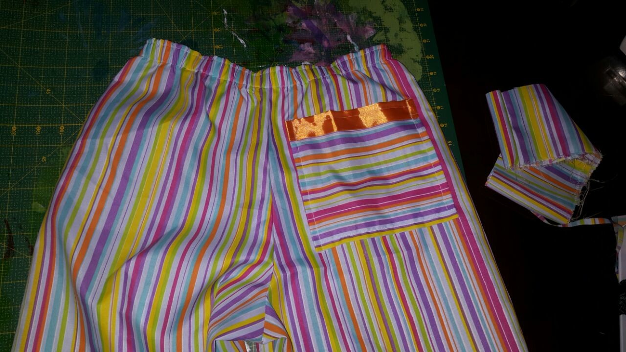 Alison's pj pants with pocket