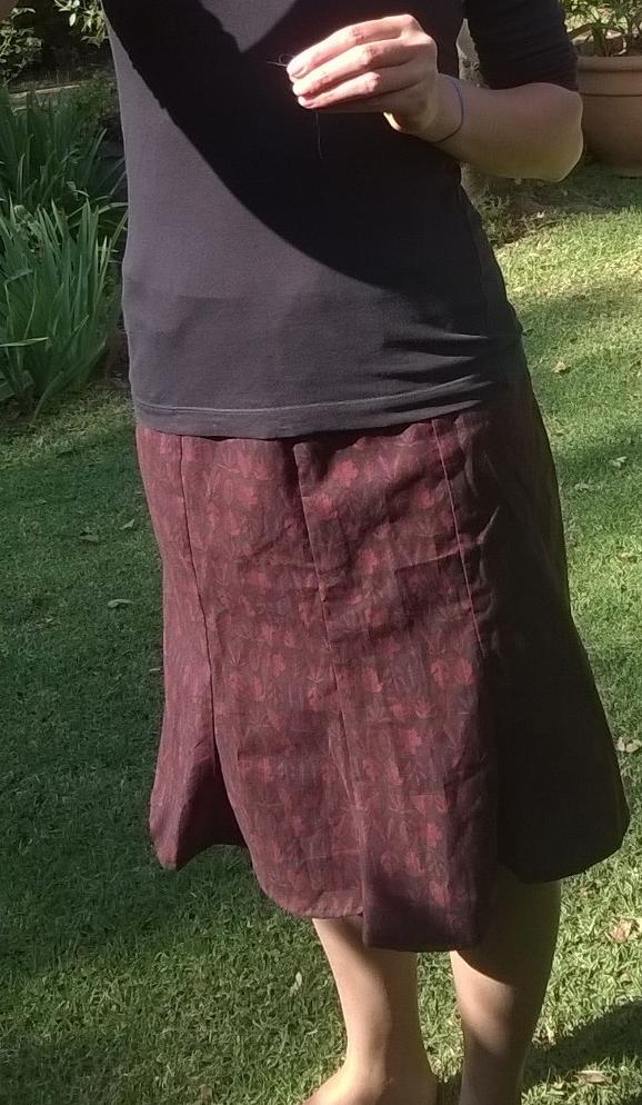 Christine's skirt