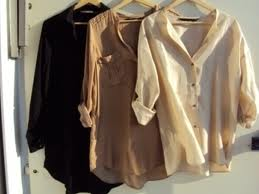 Three blouses