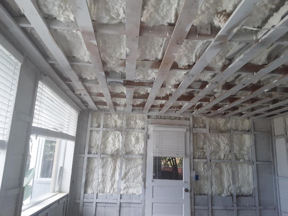 Remodel with Open Cell Foam