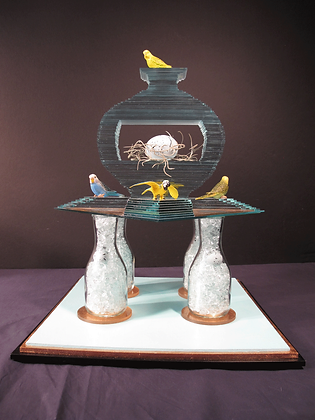 "SOLD  "" Bird Vase"" to a Los Angeles Collector"