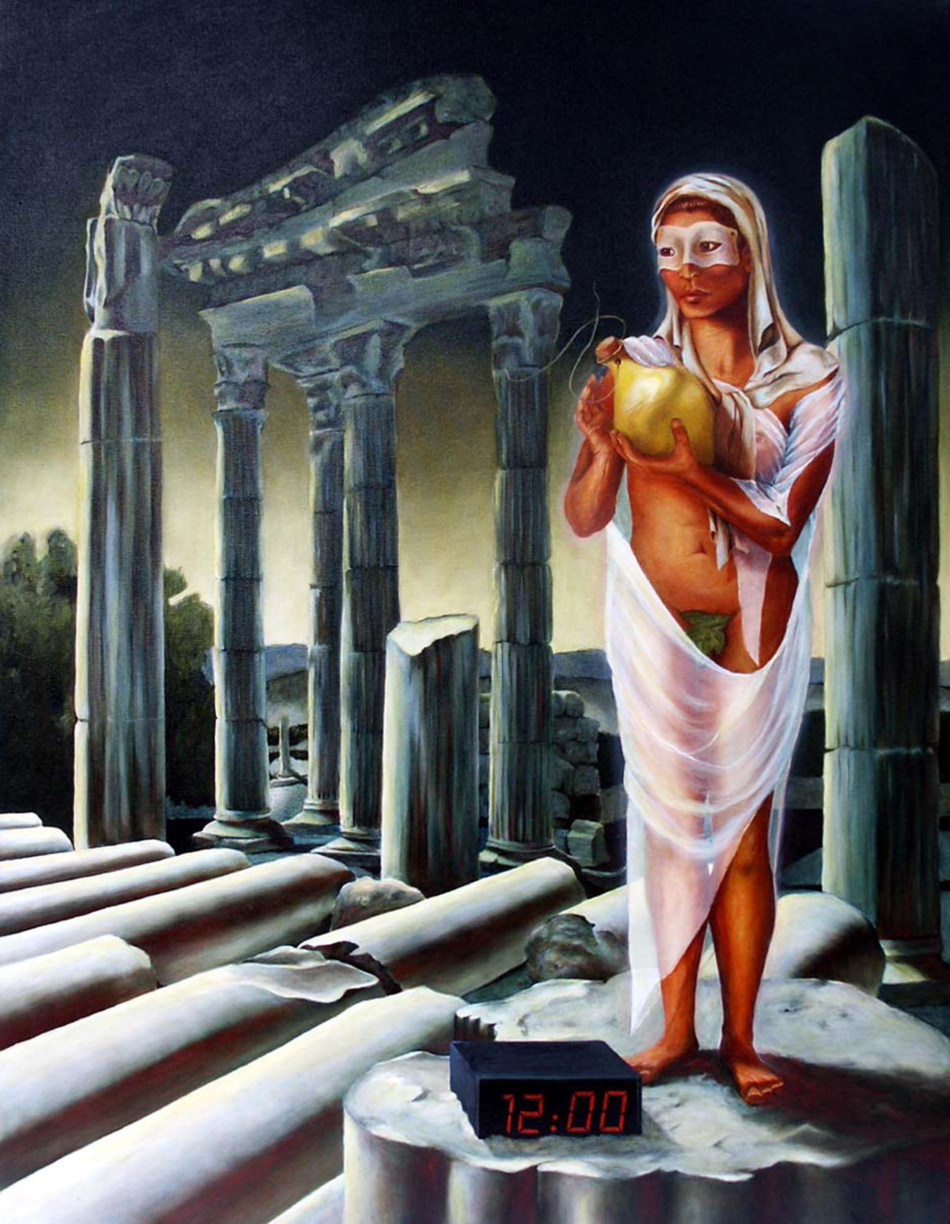 Pandora at the Temple of Athena