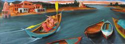 Ganeshe on the Ganges