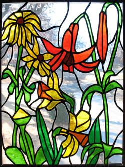 Mixed Flowers Window alternate view
