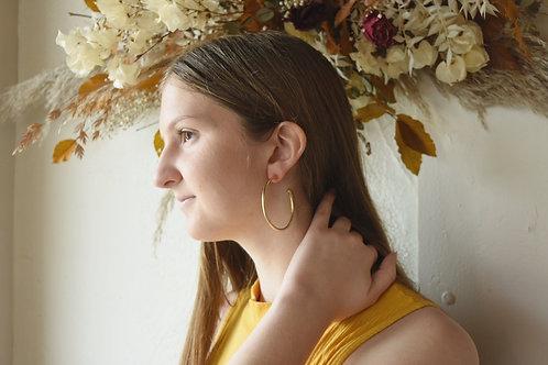 Hoop & Circle Earrings