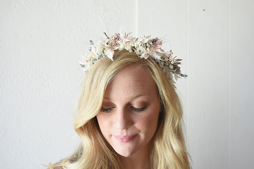 Dried Floral Headpieces