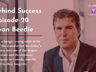 The Secret To Longevity In Real Estate, An Interview With Ryan Beedie