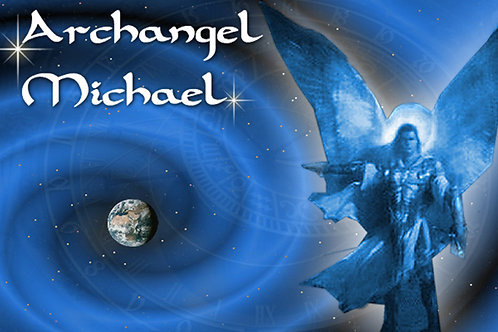 Personal message from Archangel Michael: Add birthdate and name at checkout