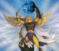 Archangel Faith First Ray Fminine