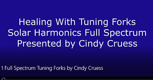 HEALING WITH TUNING FORKS, CRYSTALS, AND WANDS PROGRAM DL