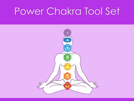 Power Chakra Tool Set DL