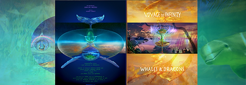 DVD ~ Voyage to Infinity/ Whales and Dragons
