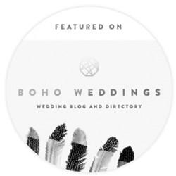 Featured on Boho Weddings