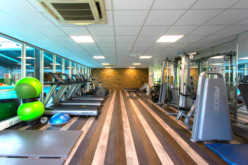 Dunkeld House Hotel modern and well equipped gym