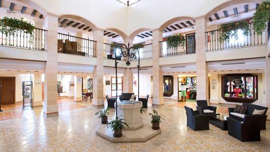 Beautiful lobby area