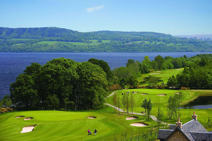 Carrick Golf Course on Loch Lomond