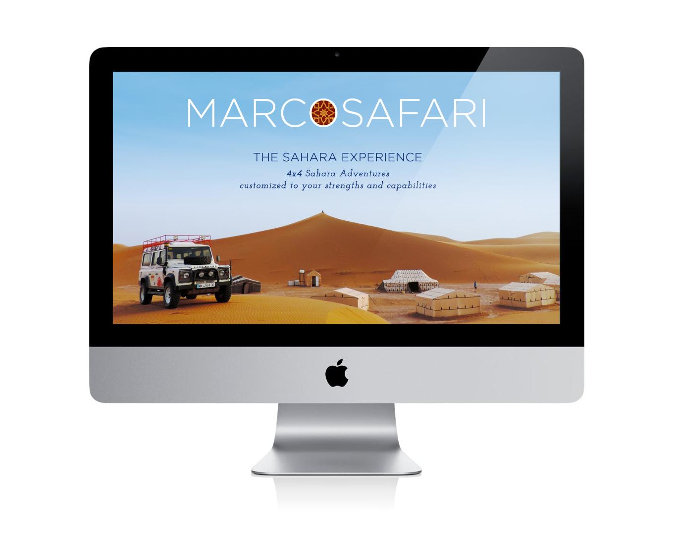 Marco Safari web imac