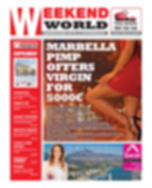 Weekend World fortnightly newspaper