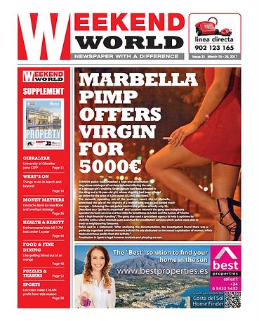 Weekend World fortnightly newspaper