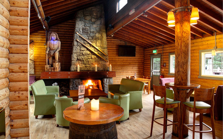 Quirky lounge area at Coylumbridge Hotel