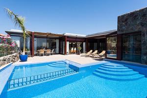 Anfil Opal Villa pool terrace