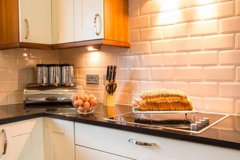 Cameron House Lodge luxury kitchen