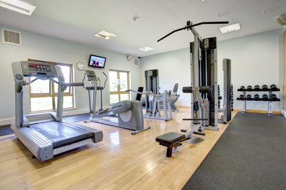 Well equipped gym at Whitbarrow
