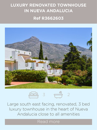 Renovated townhouse for sale in Nueva Andalucia