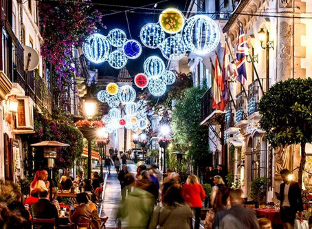 Christmas shopping in Marbella