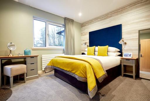 Whitbarrow Holiday Village modern bedroom